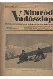 Nimród Vadászlap 1948. május 1. - Régikönyvek