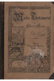 Mein Testament für Gesunde und Krate - Régikönyvek