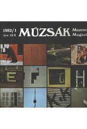Múzsák Múzeumi Magazin 1982. évf. (teljes) - Régikönyvek