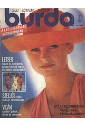 Burda 1991/7. július - Régikönyvek
