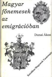 Magyar főnemesek az emigrációban - Régikönyvek