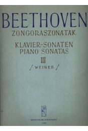 Beethoven zongoraszonáták - Régikönyvek