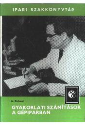Gyakorlati számítások a gépiparban - Régikönyvek