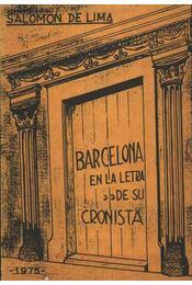 Barcelona en la letra de su cronista - Régikönyvek
