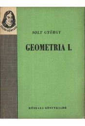 Geometria I-II. kötet - Régikönyvek