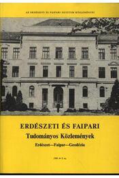 Erdészeti és faipari Tudományos közlemények 1989. év 2. sz. - Régikönyvek