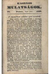 Hasznos mulatságok 1837. /28. szám - Régikönyvek