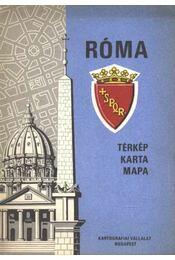 Róma (térkép) - Régikönyvek
