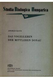 Das Volgelleben der Mitteren Donau - Régikönyvek
