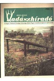 Békés megyei Vadászhíradó 1988/3. - Régikönyvek