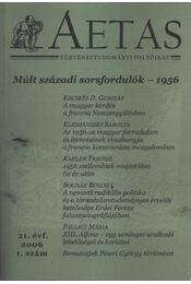 Aetas 2006/1. sz. - Régikönyvek