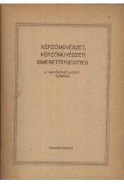 Képzőművészet, képzőművészeti ismeretterjesztés - Régikönyvek