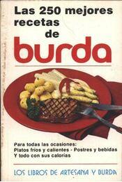 Las 250 mejores recetas de Burda - Régikönyvek