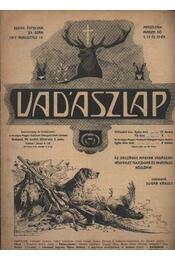 Vadászlap 1917. aug. 15. - Régikönyvek