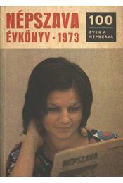 Népszava évkönyv 1973 - Régikönyvek