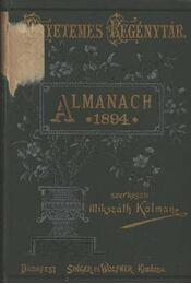 Almanach az 1894. évre - Régikönyvek