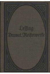 Lessing Dramatische Meisterverte (Lessing Drámai Mestermunkái) - Régikönyvek
