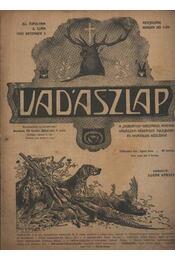Vadászlap 1920. december 5. - Régikönyvek