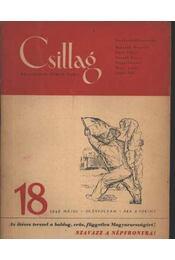 Csillag 18. 1949 május III. évfolyam - Régikönyvek