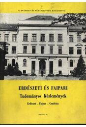 Erdészeti és faipari Tudományos közlemények 1983. év 2. sz. - Régikönyvek