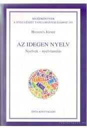Az idegen nyelv - Régikönyvek