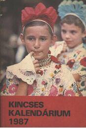 Kincses Kalendárium 1987. - Régikönyvek
