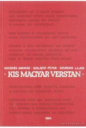 Kis magyar verstan - Régikönyvek