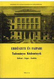 Erdészeti és faipari Tudományos közlemények 1980. év 2. sz. - Régikönyvek