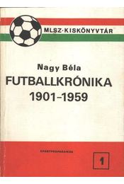 Futballkrónika 1901-1959 - Régikönyvek