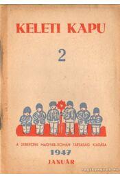 Keleti Kapu 2. 1947 - Január - Régikönyvek