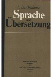 Sprache und Übersetzung - Régikönyvek
