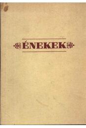 Énekek - Régikönyvek