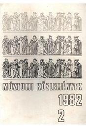 Múzeumi közlemények 1982/2. - Régikönyvek