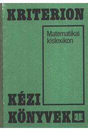 Matematikai kislexikon - Régikönyvek