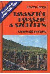 Tavasztól tavaszig a szőlőben - Régikönyvek