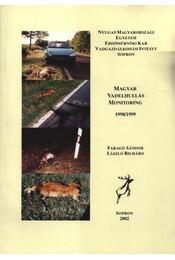 Magyar Vadelhullás Monitoring 1998/1999 - Régikönyvek