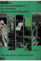 Handbuch der Naturschutzgebiete der Deutschen Demokratischen Republik (Az NDK Természetvédelmi körzetei) - Régikönyvek