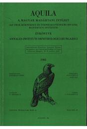 Aquila évkönyv 1982. LXXXIX évfolyam 89. sz. - Régikönyvek