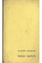Kubai napló - Régikönyvek