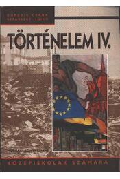 Történelem IV. - Régikönyvek