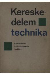 Kereskedelemtechnika - Régikönyvek