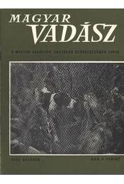 Magyar Vadász 1968/10. - Régikönyvek