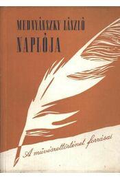 Mednyánszky László naplója - Régikönyvek