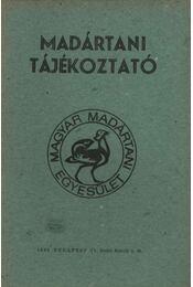 Madártani tájékoztató 1984. április-június - Régikönyvek