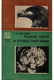 Kirgizia ritka madarai és vadai (Редкие звери и птицы Киргизии) - Régikönyvek