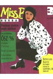 Miss B Burda 96/3 ősz - Régikönyvek