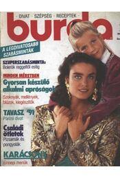 Burda 1990/12. december - Régikönyvek