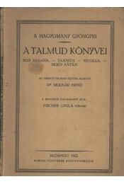 A Talmud könyvei - Régikönyvek