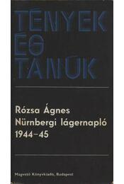 Nürnbergi lágernapló 1944-45 - Régikönyvek
