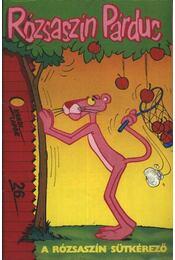 Rózsaszín Párduc 26. (A rózsaszín sütkérező) - Régikönyvek